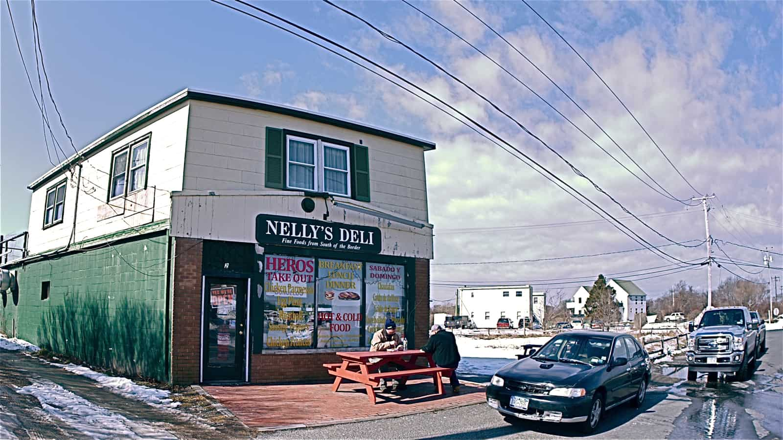 Nelly's Deli, February 12, 2013, Montauk NY, photo by Sailing Montauk