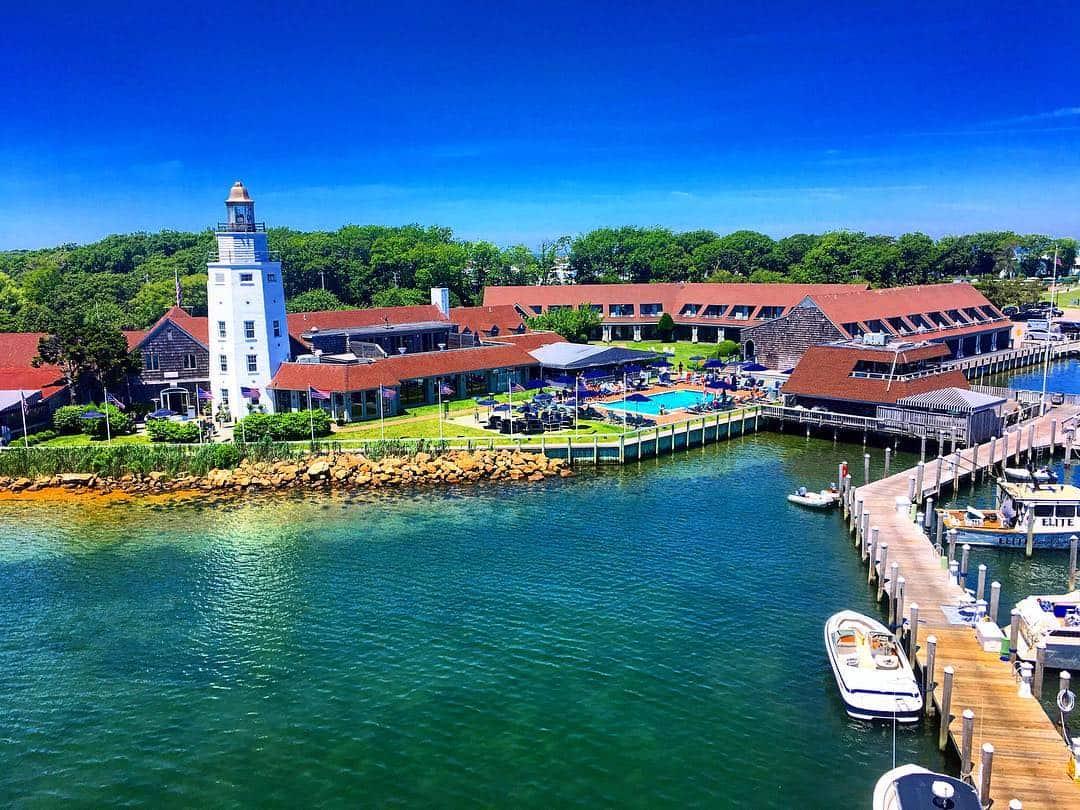 Gurney's Star Island Resort the home marina of Mon Tiki charter catamarans