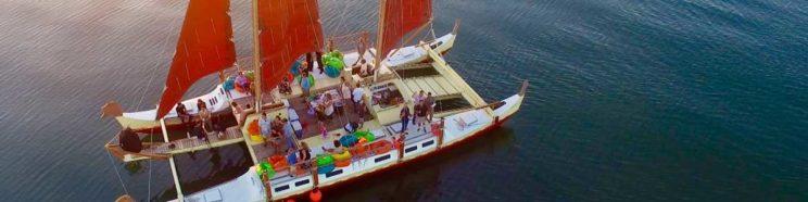 Mon Tiki Largo sails in Montauk